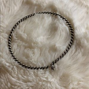 James Avery Twisted Wire Hook On Bracelet